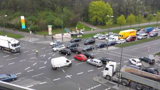Verkehrschaos im Münchner Norden