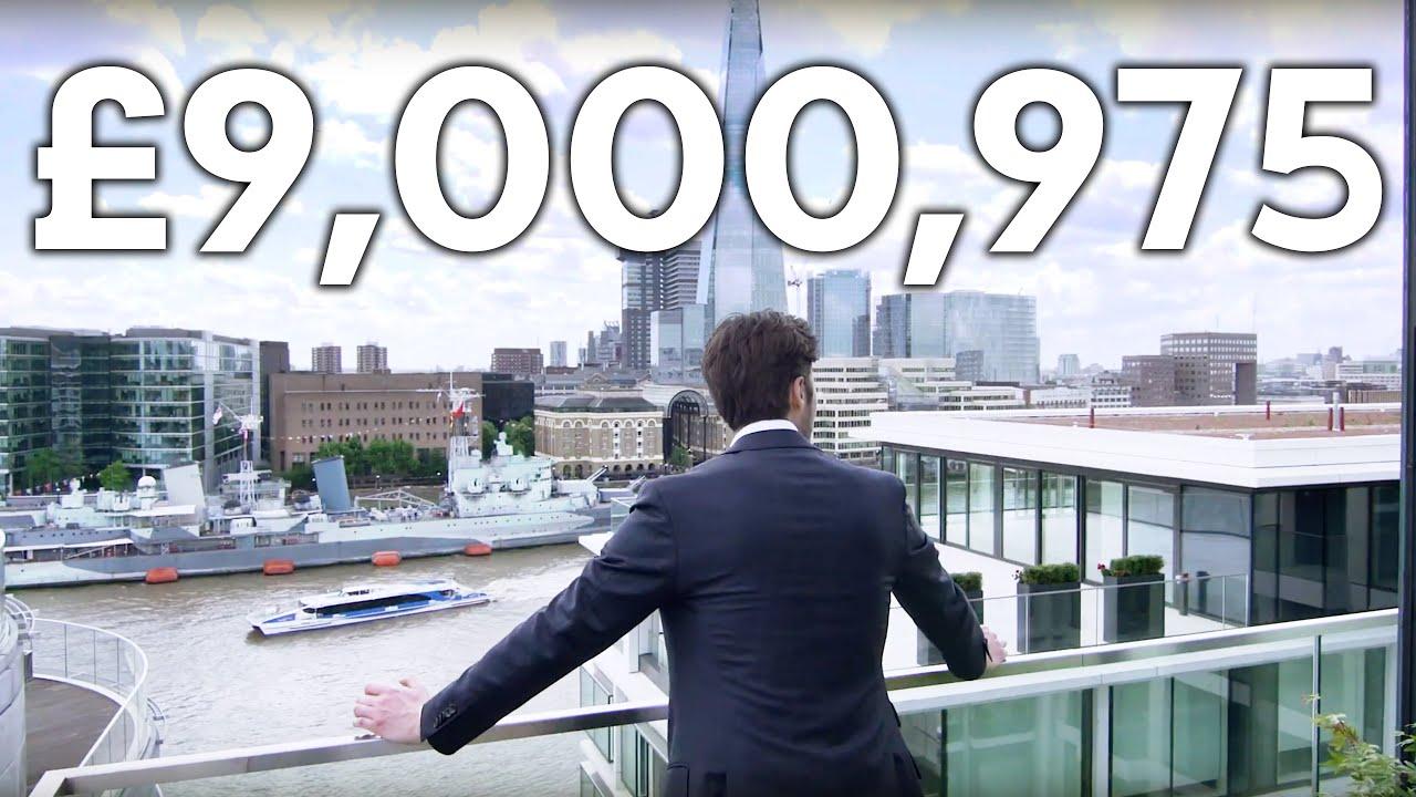 London Apartment Tour: £9 MILLION LUXURY APARTMENT