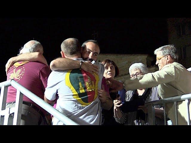 Prova Generale dedicata a Ciuffino a Porta del Foro, le carriere e la festa