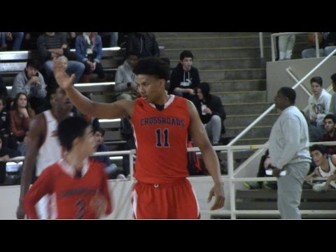 Ira Lee UofA Commit 1-24-17 Highlights Crossroads vs Beverly Hills. HoopJab