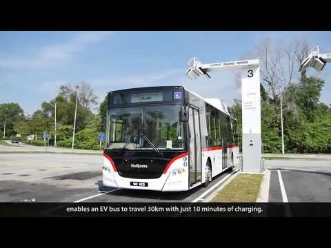 EV Bus Project in Malaysia(2017/8/31 Add ceremonial images)
