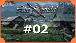 Life is Feudal #02 [Lets Play Koop | Gameplay] - Schmieden