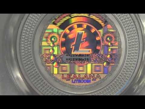 Lealana 25 Litecoin | 2013 Physical Lealana Silver Litecoin | 1 Of 500