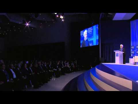 Davos 2014 - President Rouhani Address - Highlights