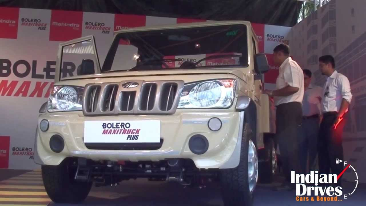New Mahindra Bolero Maxi Truck Plus Walk Around Video