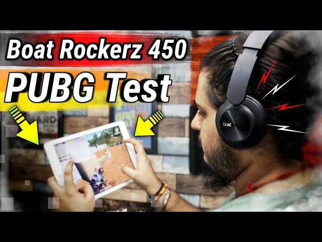 Boat Rockerz 450 Pubg Mobile Test Boat Rockerz 450 Best Headphone For Pubg Mobile My Opinion Youtube