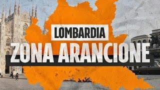La lombardia diventa zona arancione da domani: errore nei calcoli dei tecnici