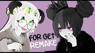 【MMD // Remake】Forget