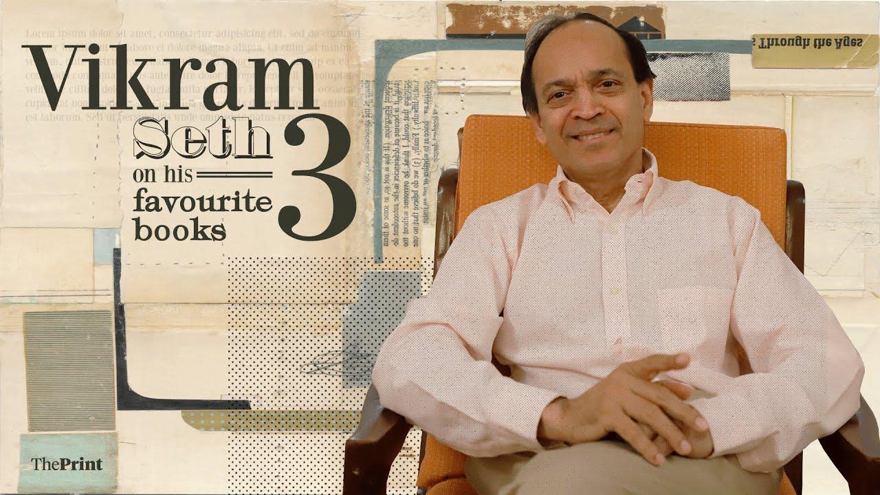 Author Vikram Seth On His Three Favourite Books Youtube