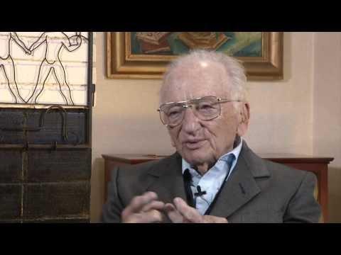 Dean Minow interviews Benjamin B. Ferencz '43