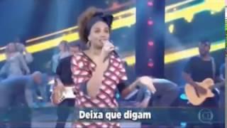 Luciana Mello - Domingão do Faustão | Deixa isso pra lá