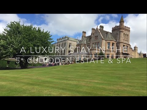 Luxury Overnight Stay in Culloden Hotel