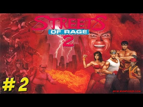Genesis: Streets of Rage 2! Part 2 - YoVideogames