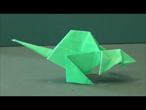 ハート 折り紙:簡単恐竜折り紙-kaumo.jp