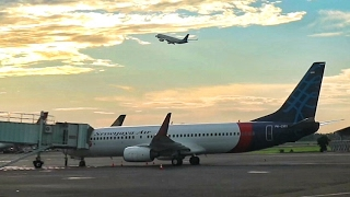 SRIWIJAYA AIR BOEING 737-800NG FLIGHT REVIEW JAKARTA TO SOLO