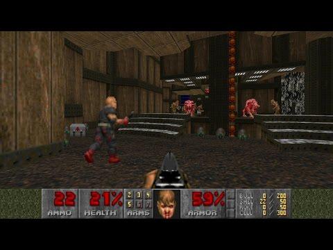 """[Doom] Ultimate Doom Episode 4 """"Thy Flesh Consumed"""" UV-Max in 20:58"""