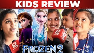 Frozen 2 Tamil Public Review By Kids