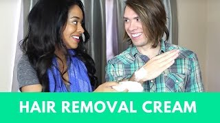 How to Use Hair Removal Cream (Veet or Nair)