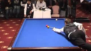 Torbjorn Blomdahl - Murat Naci Coklu - World Cup 3 cushion billiard