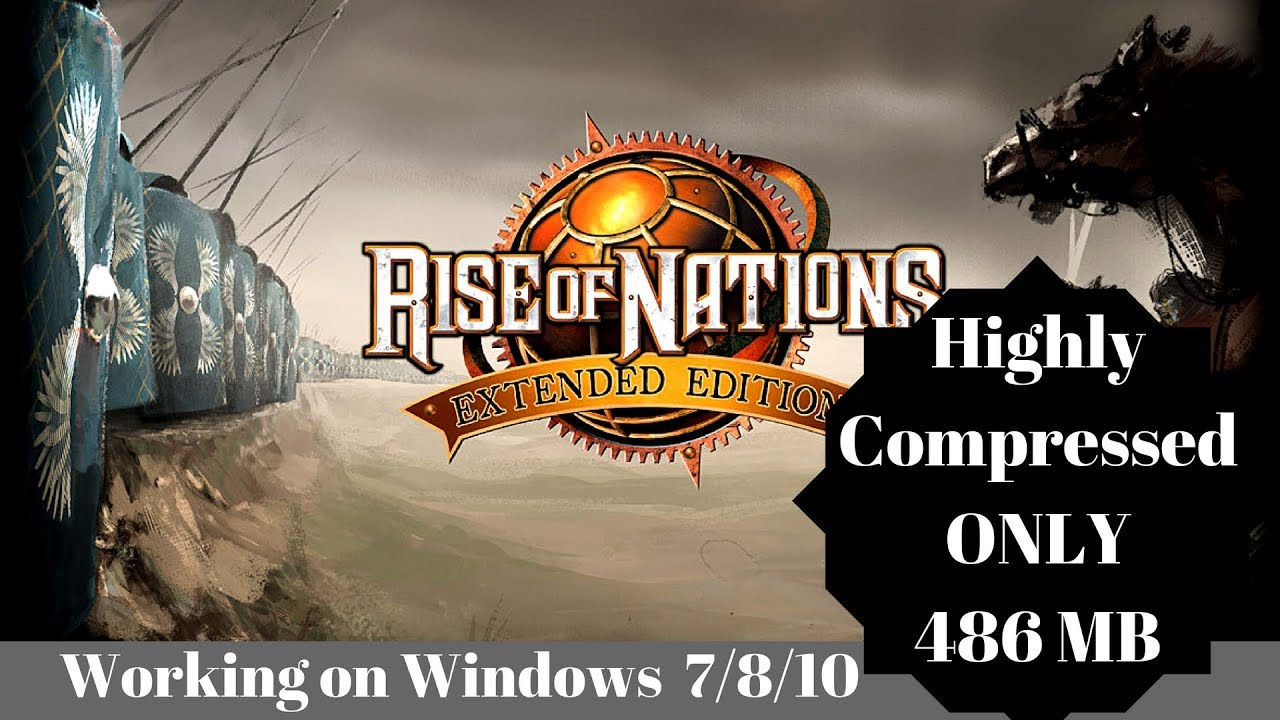 [486 MB] How to download Rise of Nations Highly Compressed Full version for  PC Windows 7/8/10