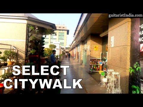 A walk at Select Citywalk, Saket, South Delhi, India