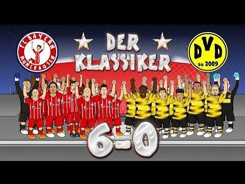 ⭐️Der Klassiker⭐️Bayern vs Dortmund!6-0!Tüm Goller 442oons Türkiye