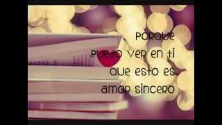 Amor Sincero-Alexander Acha (Letra)