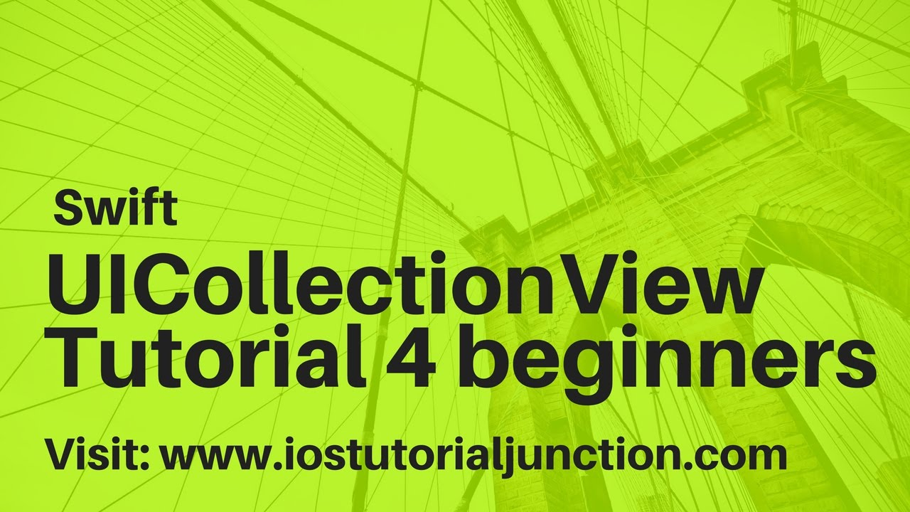 How to create UICollectionView in Swift3 - Tutorial - iOS Tutorial