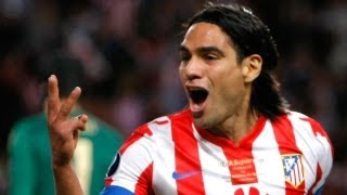 Chelsea Atletico Madrid 1 4 : Finale SuperCoppa Europea : Falcao Show : commento