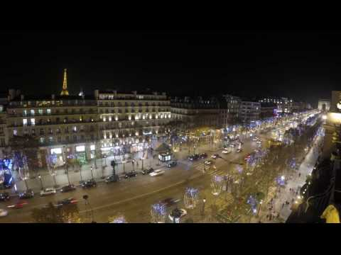 View from Fraser Suites Le Claridge, Champs Elysees Paris