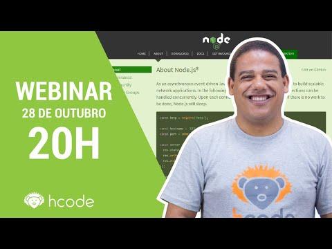 Node.js - Webinar Hcode