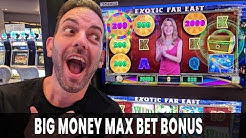 🐘 BIG MONEY Max Bet Bonus! 🎡 Wheel of Fortune Cash Link!