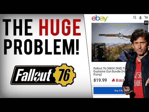 This is What Fallout 76 Has Become | Cheaters Make BIG Real-World Money Off Bethesda's Broken System thumbnail