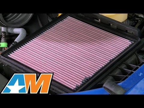 2009-2016 F-150 K&N Drop-In Replacement Air Filter Review & Install