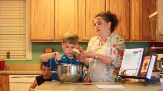 June 2014 Blueberry Lavender Muffins- Gluten-free.