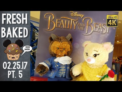 Buying new outfits for the kids at BUILD A BEAR in Downtown Disney | 02-25-17 Pt. 5 [DL-4K]