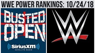 Dave LaGreca WWE Power Rankings: 10/24/18
