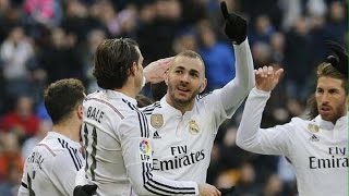 Real Madrid 4-1 Real Sociedad | Goles | COPE | 31/01/2015
