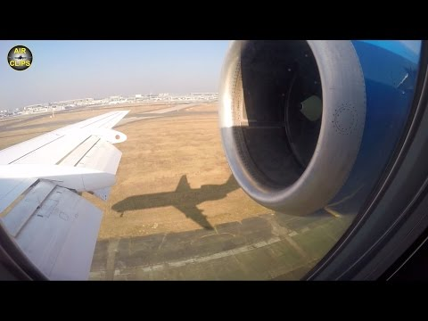 "FANTASTIC Fokker 100 ""siholuette landing"" in Frankfurt: Montenegro Airlines [AirClips]"