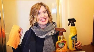 How To Clean The Shower Door Less Using Rain-X | Don't Look Under The Rug® with Amy Bates