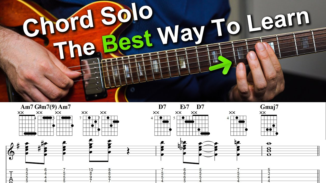 Chord Solos   How To Get Started The Easy Way