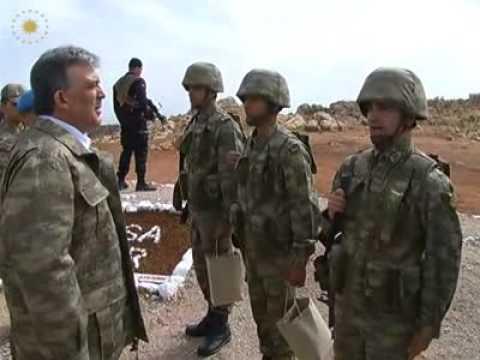 Cumhurbaşkanı Hakkari Dağ ve Komando Tugay Komutanlığında