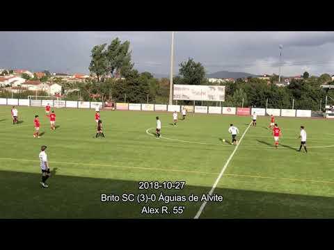 2018 10 27 Brito SC 5 0 Águias de Alvite   golos