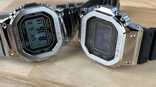 Gshock GMWB5000-1 and GMWB5000D-1