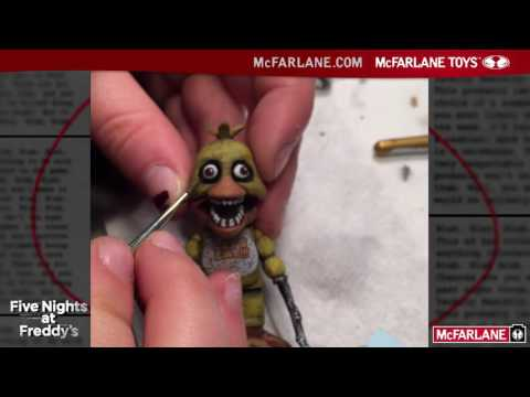 Behind The Scenes of Five Nights at Freddy's Construction Sets