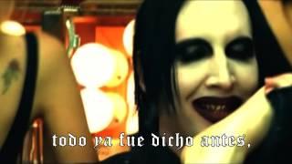 Marilyn Manson This Is The New Shit Subtitulado Al Español (Video Oficial)