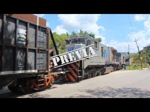 Prévia DVD 201- Oficinas de Lavras - Locomotivas BB36 - Bike-troller