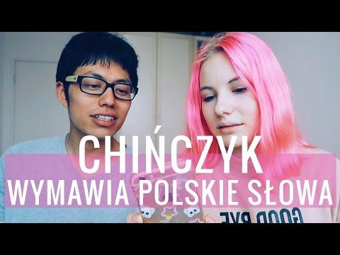 Chińczyk Próbuje Mówić Po Polsku!