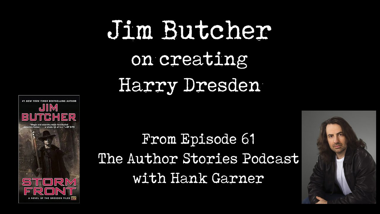 Jim Butcher Talks About Creating Harry Dresden And The Dresden Files