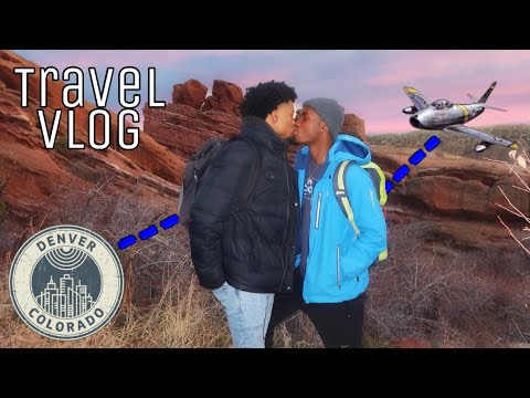 VACATION TO DENVER | Couple's Travel Vlog 🏔😘